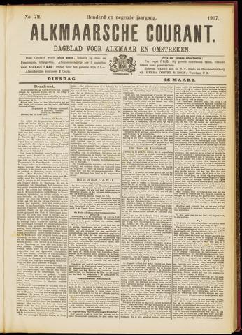 Alkmaarsche Courant 1907-03-26