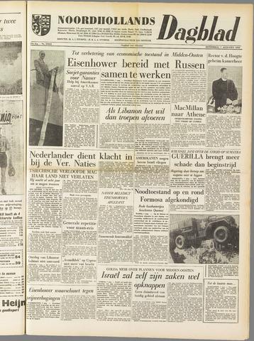 Noordhollands Dagblad : dagblad voor Alkmaar en omgeving 1958-08-07