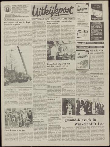 Uitkijkpost : nieuwsblad voor Heiloo e.o. 1991-04-10