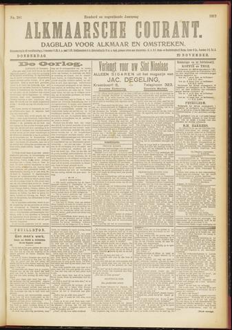 Alkmaarsche Courant 1917-11-29