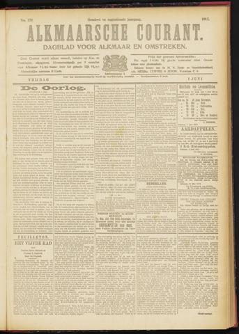 Alkmaarsche Courant 1917-06-01