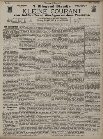 Vliegend blaadje : nieuws- en advertentiebode voor Den Helder 1907-03-13