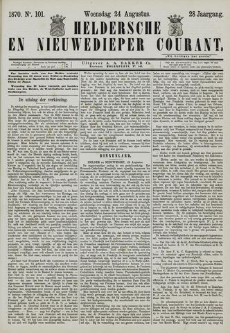 Heldersche en Nieuwedieper Courant 1870-08-24