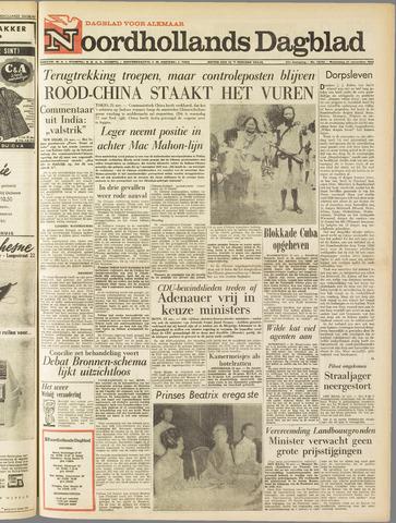 Noordhollands Dagblad : dagblad voor Alkmaar en omgeving 1962-11-21