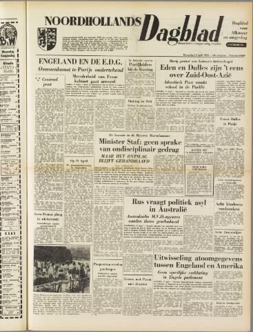 Noordhollands Dagblad : dagblad voor Alkmaar en omgeving 1954-04-14