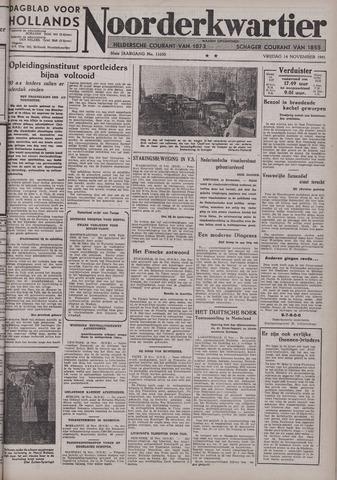 Dagblad voor Hollands Noorderkwartier 1941-11-14