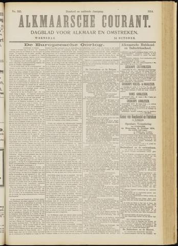 Alkmaarsche Courant 1914-10-14