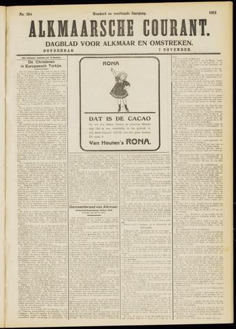 Alkmaarsche Courant 1912-11-07