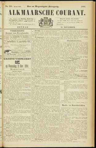 Alkmaarsche Courant 1894-11-18