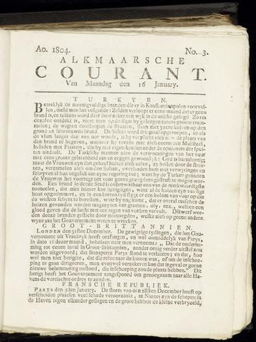 Alkmaarsche Courant 1804-01-16