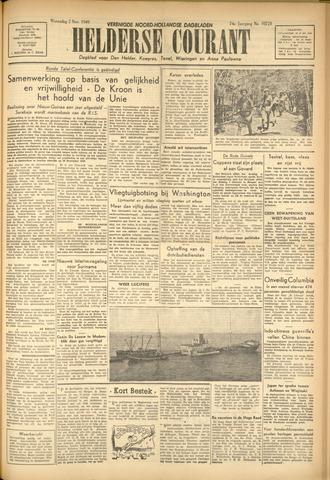 Heldersche Courant 1949-11-02