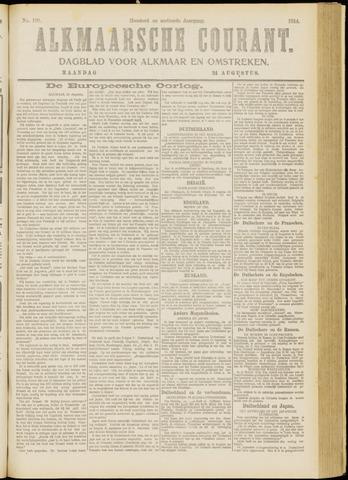 Alkmaarsche Courant 1914-08-24