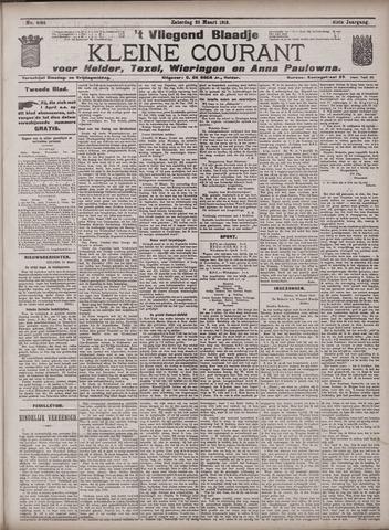 Vliegend blaadje : nieuws- en advertentiebode voor Den Helder 1913-03-22