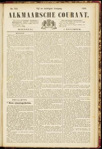 Alkmaarsche Courant 1883-12-05