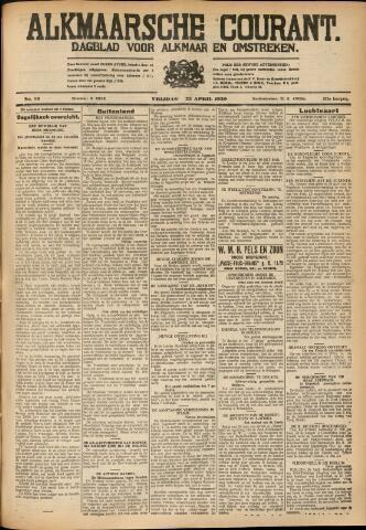 Alkmaarsche Courant 1930-04-25