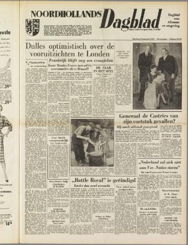 Noordhollands Dagblad : dagblad voor Alkmaar en omgeving 1954-09-28