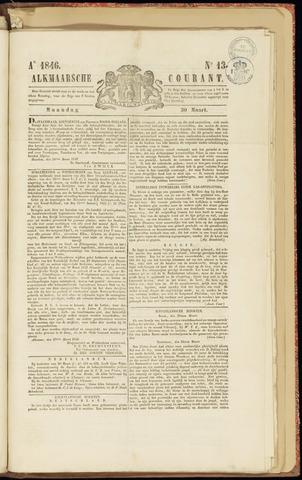 Alkmaarsche Courant 1846-03-30