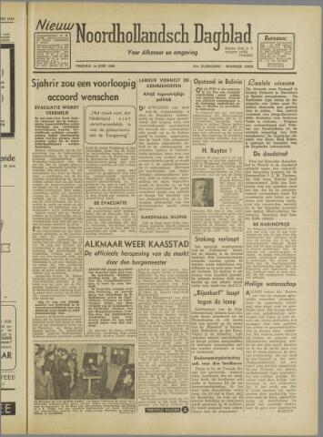 Nieuw Noordhollandsch Dagblad : voor Alkmaar en omgeving 1946-06-14