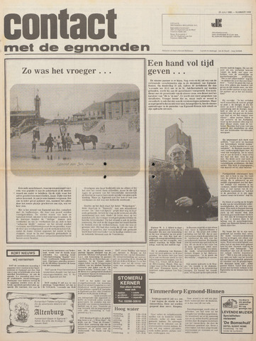 Contact met de Egmonden 1980-07-23