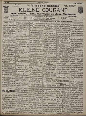 Vliegend blaadje : nieuws- en advertentiebode voor Den Helder 1909-07-10