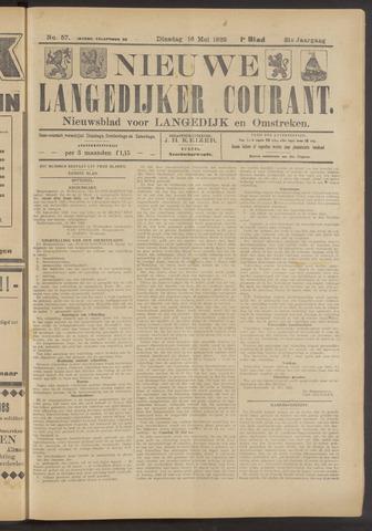Nieuwe Langedijker Courant 1922-05-16