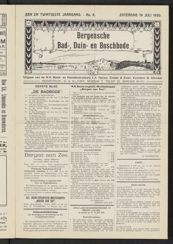 Bergensche bad-, duin- en boschbode 1930-07-19