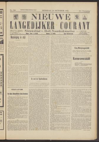 Nieuwe Langedijker Courant 1932-10-18