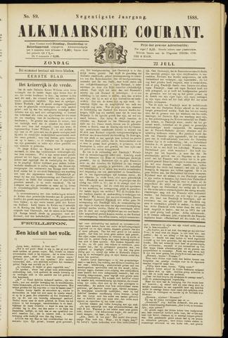 Alkmaarsche Courant 1888-07-22
