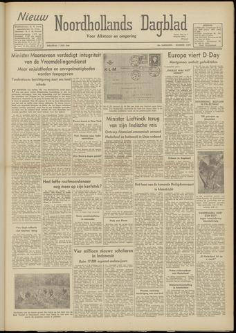 Nieuw Noordhollandsch Dagblad : voor Alkmaar en omgeving 1948-06-07