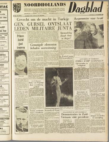 Noordhollands Dagblad : dagblad voor Alkmaar en omgeving 1960-11-14