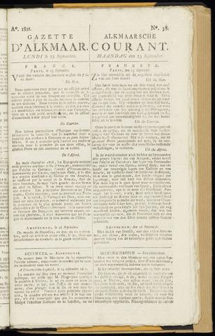 Alkmaarsche Courant 1811-09-23