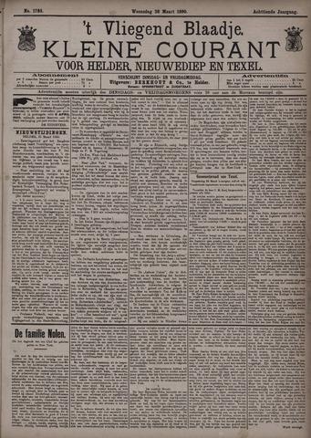 Vliegend blaadje : nieuws- en advertentiebode voor Den Helder 1890-03-26