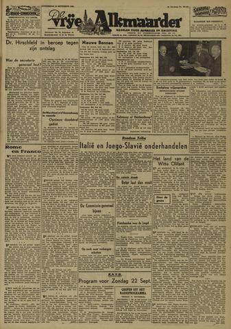 De Vrije Alkmaarder 1946-09-12