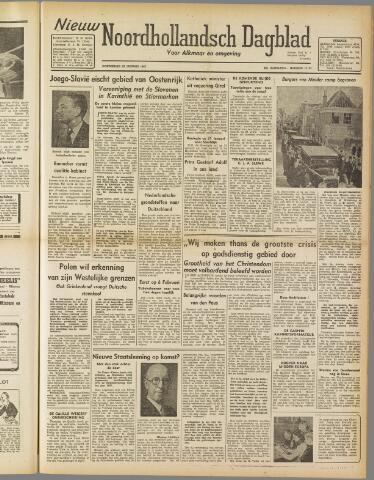 Nieuw Noordhollandsch Dagblad : voor Alkmaar en omgeving 1947-01-23