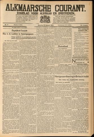 Alkmaarsche Courant 1934-01-16