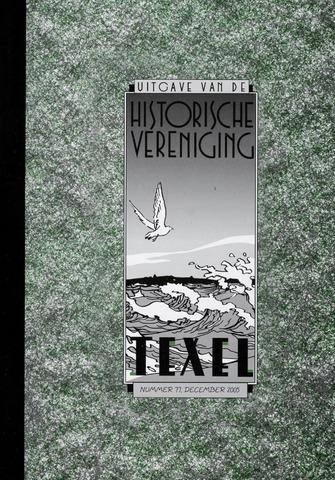 Uitgave Historische Vereniging Texel 2005-12-01