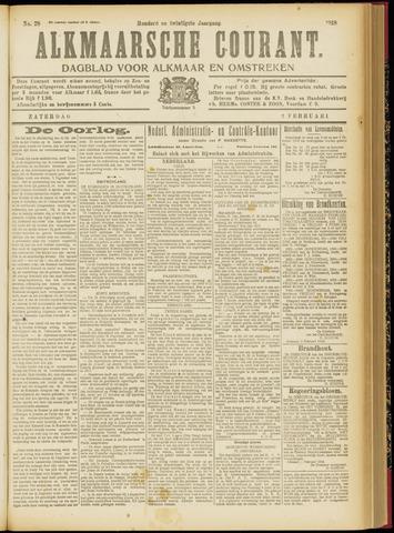 Alkmaarsche Courant 1918-02-02