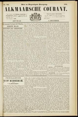 Alkmaarsche Courant 1891-12-06