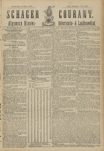 Schager Courant 1911-03-29
