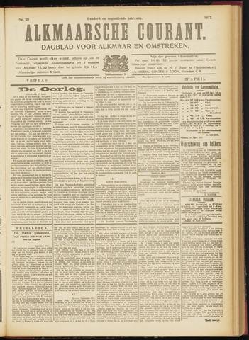 Alkmaarsche Courant 1917-04-27