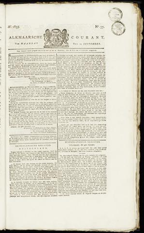 Alkmaarsche Courant 1835-09-14