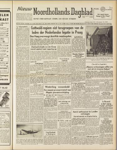 Nieuw Noordhollandsch Dagblad : voor Alkmaar en omgeving 1950-03-08