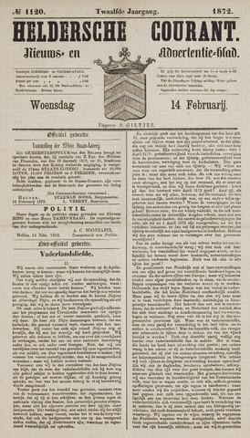 Heldersche Courant 1872-02-14