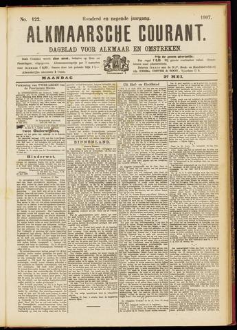 Alkmaarsche Courant 1907-05-27