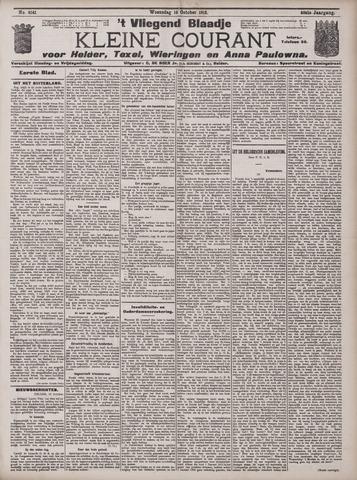 Vliegend blaadje : nieuws- en advertentiebode voor Den Helder 1912-10-16
