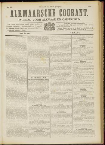 Alkmaarsche Courant 1909-03-09