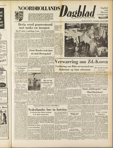 Noordhollands Dagblad : dagblad voor Alkmaar en omgeving 1953-07-13