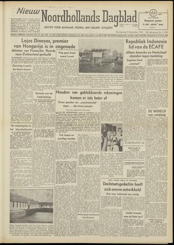Nieuw Noordhollandsch Dagblad : voor Alkmaar en omgeving 1948-12-09