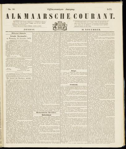 Alkmaarsche Courant 1873-11-16