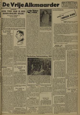 De Vrije Alkmaarder 1947-02-25